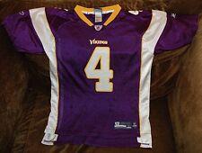 Brett Favre jersey! Minnesota Vikings YOUTH large 14-16 NFL vintage throwback