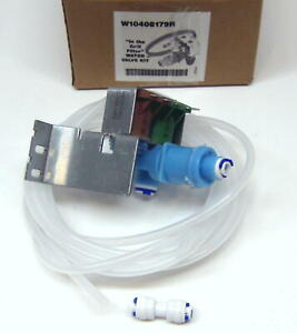 W10408179 for Whirlpool Kenmore Kitchenaid Refrigerator Water Valve for 4389177