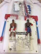Vtg Muhammad Ali's Boxing Ring by Mego / J.C. Penney Mailer Action Figure, 1976
