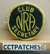NRA SECRETARY GUN CLUB PATCH
