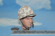 ALERT LINE MODELS 1:6TH SCALE WW2 USMC M1 HELMET & M1942 CAMO COVER AL100021