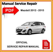 Mazda5 2012 2013 2014 2015 Factory Service Repair Workshop Manual Mazda 5 PDF