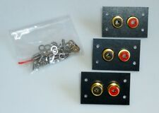 """ORIGINALE PIEVOX"" cinchbuchsen DI RICAMBIO/REPLACEMENT RCA sockets for REVOX a77"