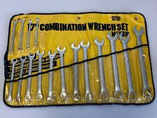 STANLEY CHALLENGER Combination Wrench Set 16 Pcs. 6-10mm,12-22mm