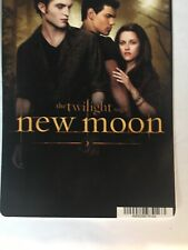 Twilight Saga: New Moon Backer Card Frame-able Collectible not movie