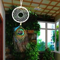 Handmade Dream Catcher With Feathers Home Wall Hanging Decoration Ornament Decor