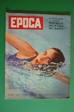 EPOCA 513/1960 OLIMPIADI ROMA AUDREY HEPBURN MEL FERRER JOHN KENNEDY JACQUELINE