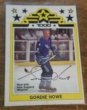 1977-78 Gordie Howe OPC WHA #1 Detroit Hartford New England