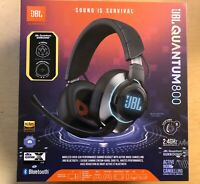 JBL Quantum 800 Wired Over-Ear Gaming Headset - Black