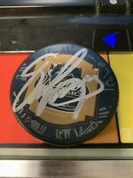 Eric Lindros Philadelphia Flyers Hand Signed Puck Winter Classic