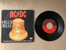 🖤💛45t AC/DC - Hell's Bells VF 💛🖤
