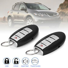 2 For 2008 2009 2010 2011 2012 2013 2014 Nissan Murano Keyless Remote Key Fob