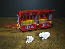 Corgi Major Toys 1123 Chipperfield Circus Animal Cage + Ours / Bears - TBE / VGC