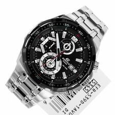 CASIO EDIFICE EFR-539D-1AV CLASSIC BLACK CHRONOGRAPH MENS WATCH