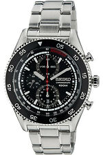 SEIKO SNDG57P1,Men's CHRONOGRAPH,NEW,STAINLESS STEEL CASE,date,100m WR,SNDG57