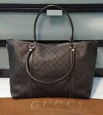 Authentic GUCCI Signature GG Large JOY TOTE Bag (Made in Italy)