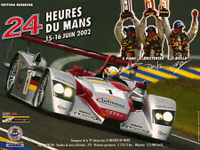 Le Mans 2002, Audi R8, ACO Poster, Members Edition