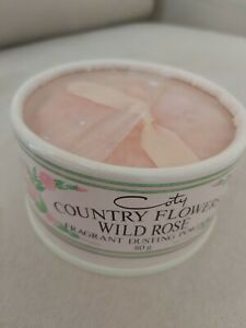 💖 Coty country flowers wild rose fragrant dusting powder 80g new sealed