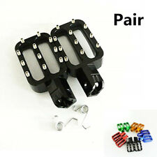 CNC Motorcycle Pit Bike Rests Foot Pegs For MX CRF50 XR50 PW50 PW80 KLX110 TTR50