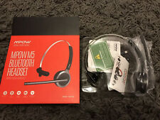 MPOW Bluetooth Headset Work From Home Call Wireless VOIP Internet Calling