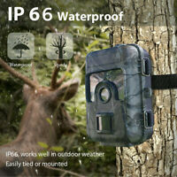 1080P 16MP Hunting Trail Camera Wildlife Scouting Night Vision HD Video Recorder