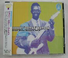 JOHNNY GUITAR WATSON (CD) GREAT BLUES MASTERS Vol 8.  IMPORT JAPON