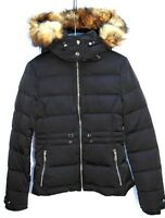 ZARA DOWN PUFFER JACKET WITH HOOD SIZE SMALL