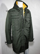 VICTORINOX Swiss Army 3N1 Military M51 Hooded Parka Removable Liner Green size L
