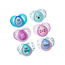 Tommee Tippee Closer to Nature Night Time Orthodontic Infant Soother Pacifier...