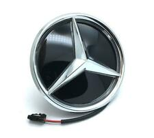 White LED Light Front Grille Mirror Star Emblem For Mercedes Benz W205 W212 18.5