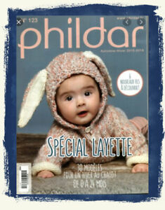 CATALOGUE PHILDAR N°123  LAYETTE hiver 2015/2016 NEUF