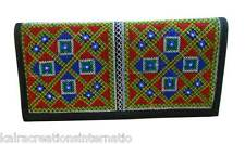 Traditional Women Girls Wallet Embroidered Purse Ethnic Clutch Handbag Kcib9