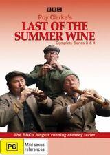 Last Of The Summer Wine : Series 3-4 (DVD, 2008, 4-Disc Set) (D116)