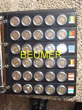 ALBUM + 8 HOJAS ESPECIALES,para 240 Monedas de 2 € en cápsulas.(No incluídas)