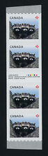 Canada 2506i Gutter strip/inscription MNH Racoons, Baby Animals