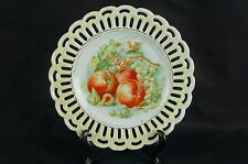 """Nice Old ca. 1930 reticulated plate Germany 7"""" [Y7-W6-A9]"""