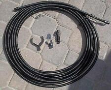 """New listing 1/2"""" Sewer Snake Cable 75' W/ Drain Bit Auger Cutters Kink Free Inter Core Cable"""