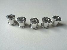 *NOS Vintage Campagnolo Superleggera double aluminium chainring bolts set*