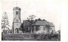 Shrops - CARDESTON, St Michael's Church - Printed Card by Wilding # 786