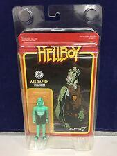 """Abe Sapien Super7 x Funko Hellboy 3.75"""" Action Figure w/ Display Case"""
