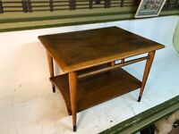 Lane Dovetail Mid-Century Modern Coffee Table 2 Step  End Table Style 0900-05