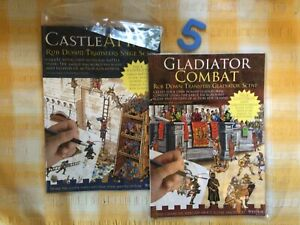Westair Gladiator Combat And Castle Attack Rub Down Transfers Brand New