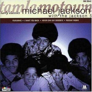 MICHAEL JACKSON/JACKSON 5 - EARLY CLASSICS (CD 1996) NEW...FAST POST