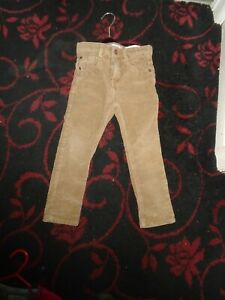 Zara Kids Boys Corduroy Trousers age 5
