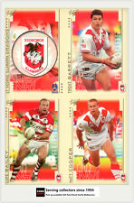 2003 Select NRL XL Series Trading Card Base Team Set Dragons (12)