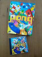 Pong - big box pc game Retro Rare Atari