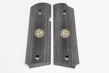 Wilson Combat - 1911 Compact Diamondwood Grips - Checkered - 351DCP