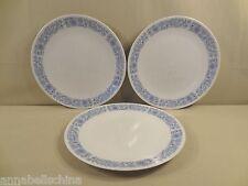 "Royal Doulton ""Cranbourne"" 3 Dinner Plates"