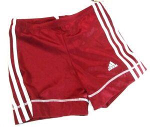 ADIDAS Boys' Size 32 Infinitex Maroon red Swimming Shorts  0881 []