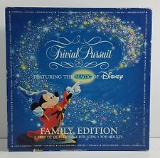 Vintage 1986 Trivial Pursuit Featuring the Magic of Disney Family Edition Game